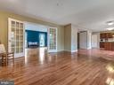French interior doors - 6012 CREST PARK DR, RIVERDALE