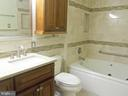 Absolutely gorgeous master bath! - 6411 JUANITA CT, SUITLAND