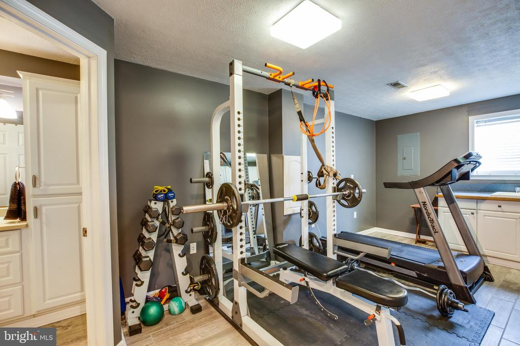 Bonus room in basement at bottom of stairs. - 40 NORTHAMPTON BLVD, STAFFORD