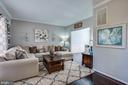 Family room ,light and bright. - 40 NORTHAMPTON BLVD, STAFFORD