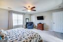 Master bedroom with reach in closet as a second. - 40 NORTHAMPTON BLVD, STAFFORD