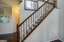 Updated railing and banister.  WOW! - 40 NORTHAMPTON BLVD, STAFFORD