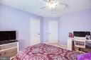 Another bedroom on 3rd level. - 40 NORTHAMPTON BLVD, STAFFORD