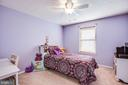 Bedroom with reach in closet. - 40 NORTHAMPTON BLVD, STAFFORD