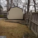 Shed side view. - 6411 JUANITA CT, SUITLAND