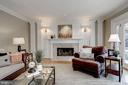 Decorative columns, wainsoting & crown molding - 2008 ROUNDHOUSE RD, VIENNA