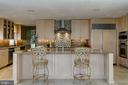 Custom cabinetry and  granite countertops - 2008 ROUNDHOUSE RD, VIENNA