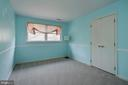 3rd bedroom w/ newer carpet - 2008 ROUNDHOUSE RD, VIENNA
