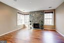5th bedroom or office w/ wbfp & private views! - 2008 ROUNDHOUSE RD, VIENNA
