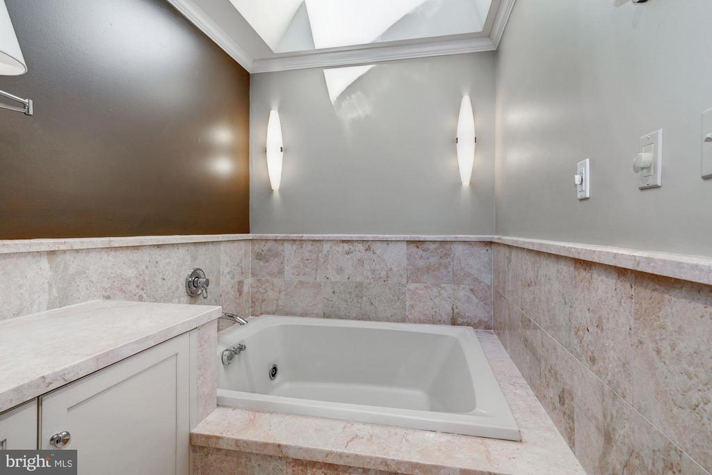 Jetteted tub,  separate shower & skylights - 2008 ROUNDHOUSE RD, VIENNA