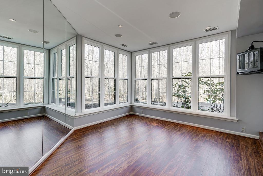 Nature lovers delight in this window covered room! - 2008 ROUNDHOUSE RD, VIENNA