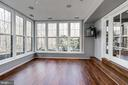 Spectacular lower level sun room!!! - 2008 ROUNDHOUSE RD, VIENNA