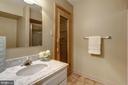 Lower level full bath complete w/ sauna - 2008 ROUNDHOUSE RD, VIENNA