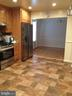 View of kitchen into dining room. - 6411 JUANITA CT, SUITLAND