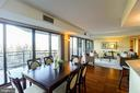 Dining Room with Balcony - 1530 KEY BLVD #506, ARLINGTON