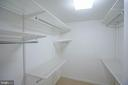 Master Bedroom Walk-In Closet - 1530 KEY BLVD #506, ARLINGTON