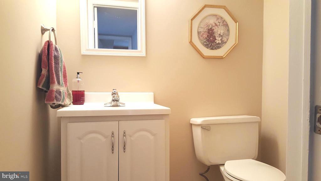 Lower Level half bath - Rough-in ready--full bath - 7126 BRIDGEPORT CT, SPRINGFIELD