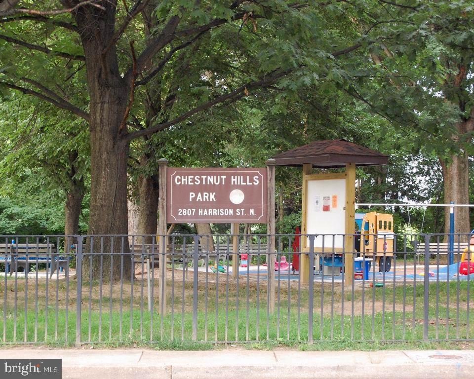 Chestnut Hills Playground for children, .4 mi away - 5601 WILLIAMSBURG BLVD, ARLINGTON