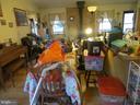 Dining area of great room - 535 MONTICELLO CIR, LOCUST GROVE