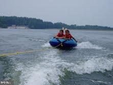 Fun tubing on 550 acre lake - 535 MONTICELLO CIR, LOCUST GROVE