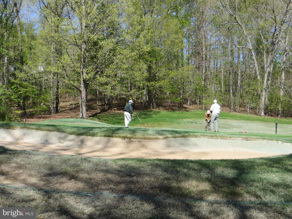 Manicured Sand Trap & Golfers - 535 MONTICELLO CIR, LOCUST GROVE