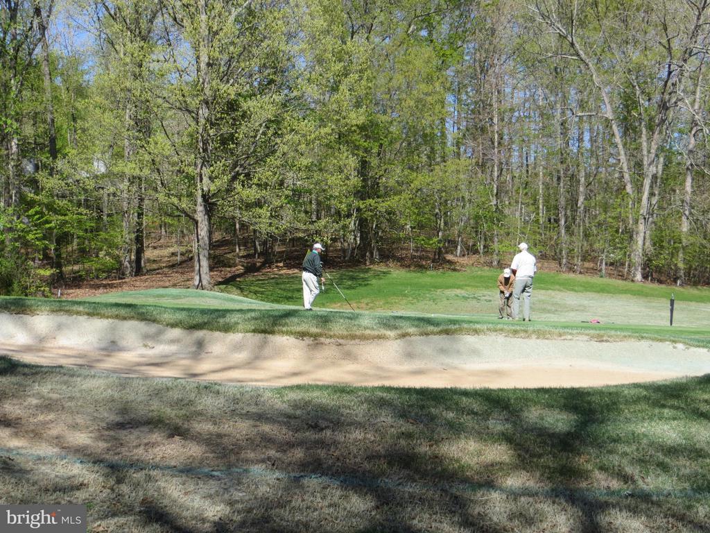 Manicured Sand Trap & Golfers - 535 MONTICELLO CIR, LOCUST GROVE