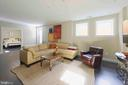 Family room offers kitchenette and adjoining BR - 432 S COLUMBUS ST, ALEXANDRIA
