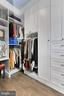 Custom walk-in closet with built-in vanity - 1148 S LINCOLN ST, ARLINGTON