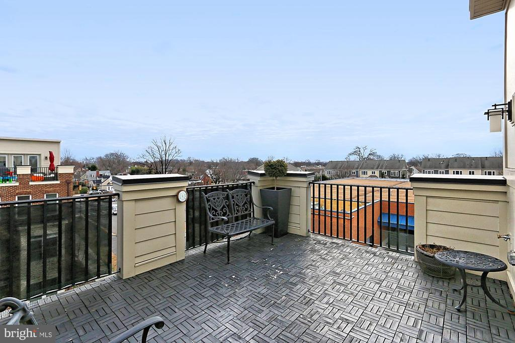 Huge composite terrace - 1148 S LINCOLN ST, ARLINGTON