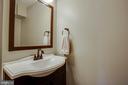 Lower level half bath - 104 MEHERRIN TER SW, LEESBURG