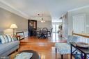 Living room- dining room - 104 MEHERRIN TER SW, LEESBURG
