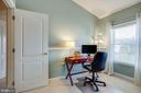 Third bedroom used as a study - 104 MEHERRIN TER SW, LEESBURG