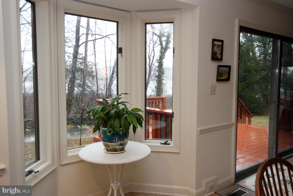 Spectacular View from Kitchen - 3225 RIVERVIEW DR, TRIANGLE