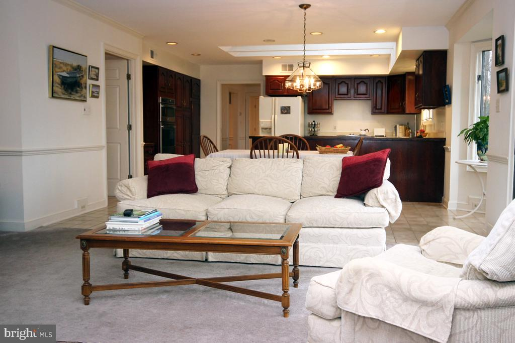 Family room adjacent to the Kitchen - 3225 RIVERVIEW DR, TRIANGLE