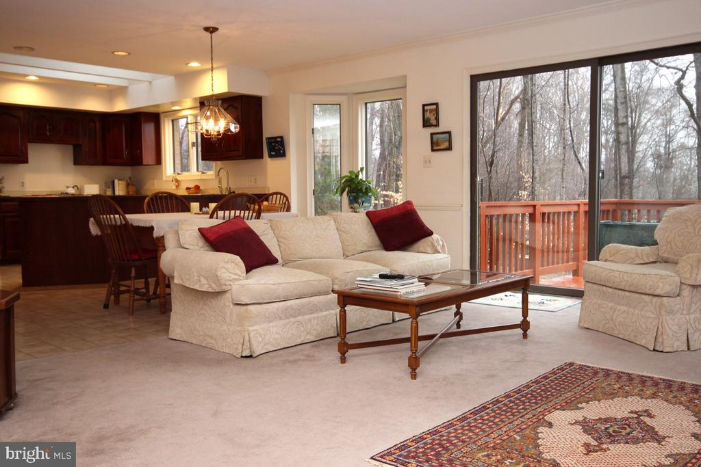 Kitchen/Family Room - 3225 RIVERVIEW DR, TRIANGLE