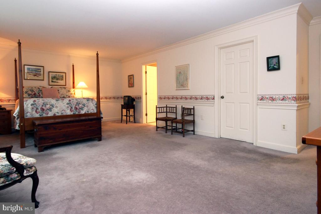 Spacious Master Bedroom Suite w Walk In Closet - 3225 RIVERVIEW DR, TRIANGLE