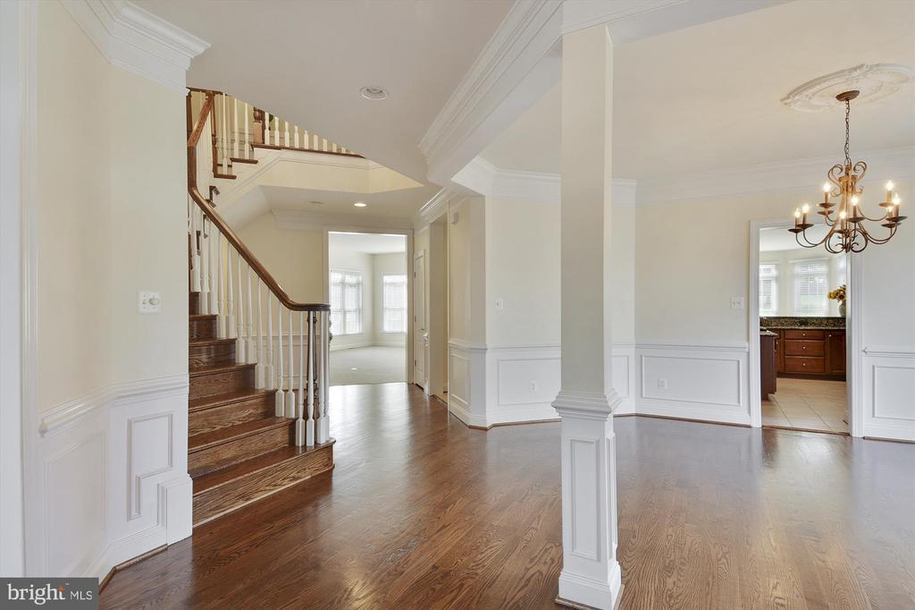 Grand entry welcomes you ! - 16600 FERRIERS CT, LEESBURG