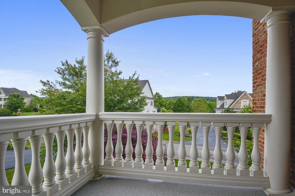 Balcony off master bedroom - 16600 FERRIERS CT, LEESBURG