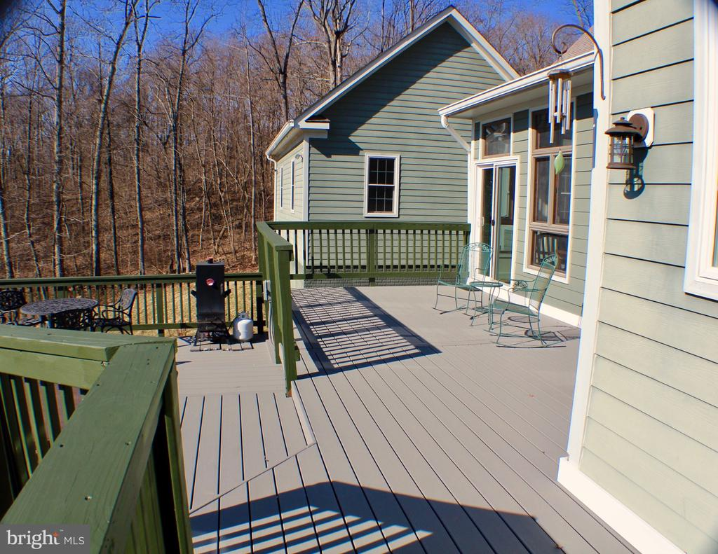 EXPANSIVE DECK AREA - 20970 STEPTOE HILL RD, MIDDLEBURG