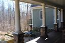 SIDE AREA OF PORCH NEAR HERB GARDEN - 20970 STEPTOE HILL RD, MIDDLEBURG