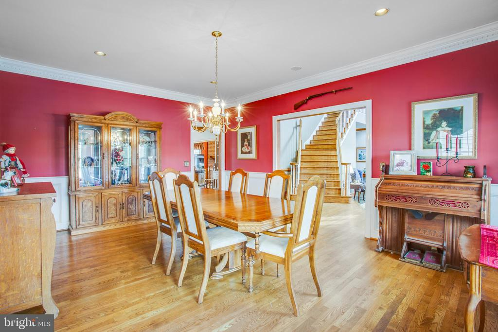 Fits at least 12 people in the dining room - 7411 SNOW HILL DR, SPOTSYLVANIA