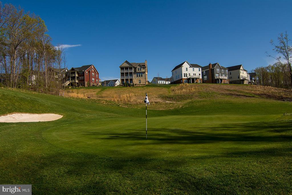 Some properties overlook the golf course - 2565 PASSIONFLOWER CT, DUMFRIES