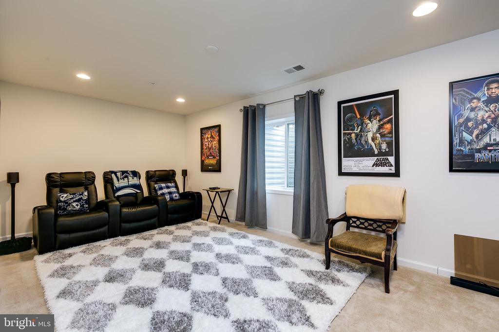 Theater room or 5th bedroom - 2565 PASSIONFLOWER CT, DUMFRIES