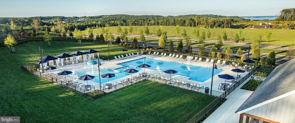 Resort style pool with views of the river - 2565 PASSIONFLOWER CT, DUMFRIES