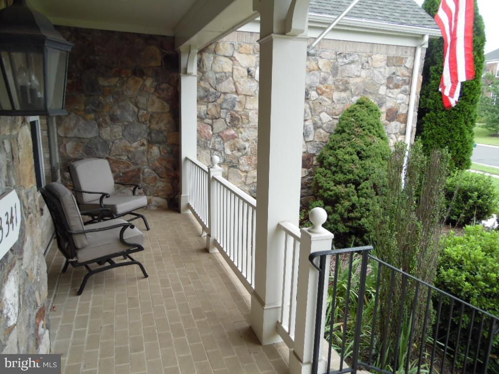 Front Porch Faces East - Awesome Views - 43341 CEDAR POND PL, CHANTILLY