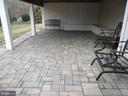 25x16 Paver Patio - 43341 CEDAR POND PL, CHANTILLY