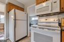 Gas plumbing available for hook up behind stove - 10321 WOOD RD, FAIRFAX