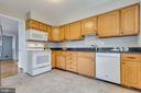 Tons of granite counter space - 10321 WOOD RD, FAIRFAX