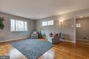 Refinished hardwood floors throughout 3 levels - 10321 WOOD RD, FAIRFAX