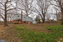 Large fenced rear yard - 10321 WOOD RD, FAIRFAX
